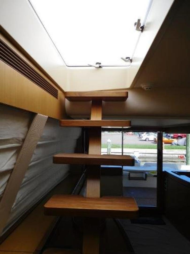 Ferretti Yachts-630 2009-BREAKAWAY Treasure Island-Florida-United States-Staircase to Flybridge -1097531 | Thumbnail