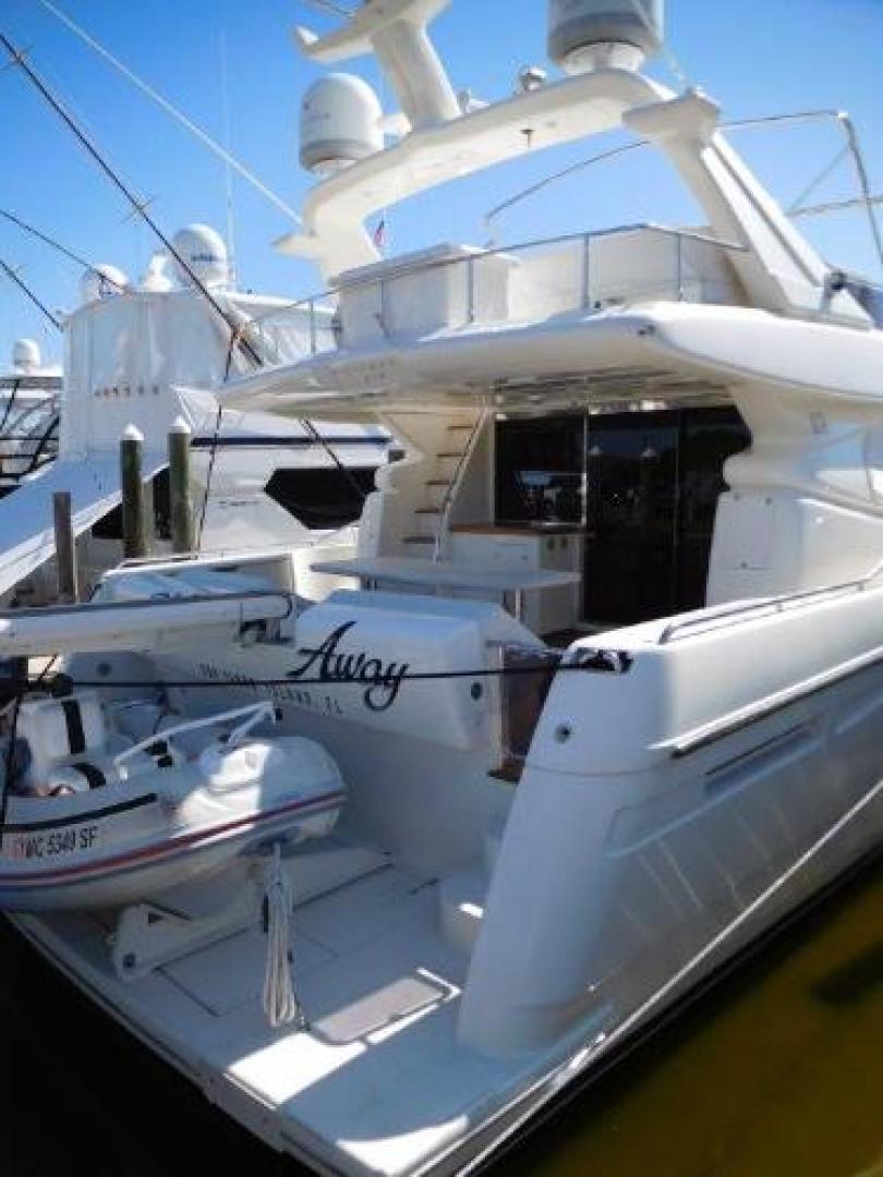Ferretti Yachts-630 2009-BREAKAWAY Treasure Island-Florida-United States-Aft Deck and Swim Platform-1097587 | Thumbnail