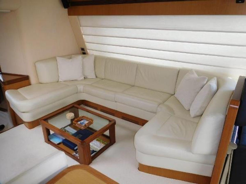 Ferretti Yachts-630 2009-BREAKAWAY Treasure Island-Florida-United States-Salon  U-Shaped Sofa-1097527 | Thumbnail