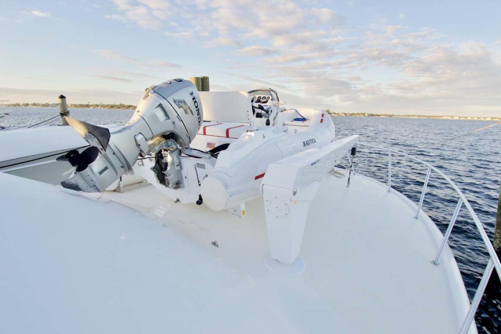 Ocean Yachts-57 SS 2006-Deliverance Stuart-Florida-United States-Tender Davit-1102245 | Thumbnail