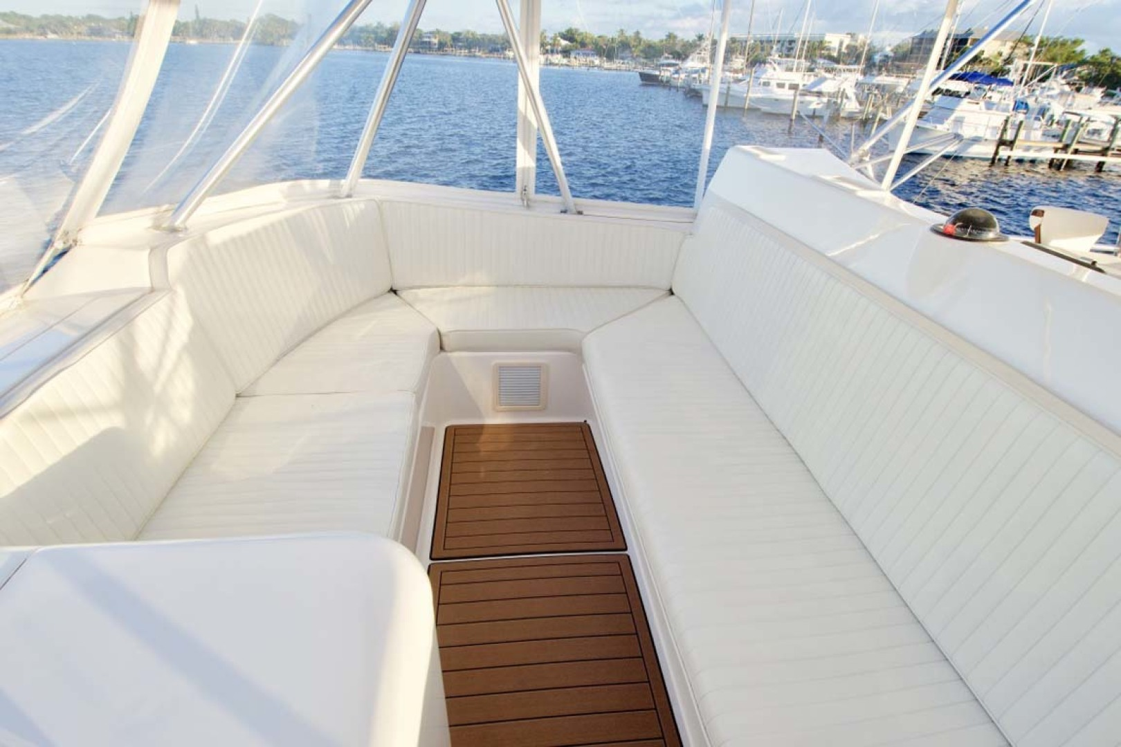Ocean Yachts-57 SS 2006-Deliverance Stuart-Florida-United States-Flybridge Seating-1102257 | Thumbnail