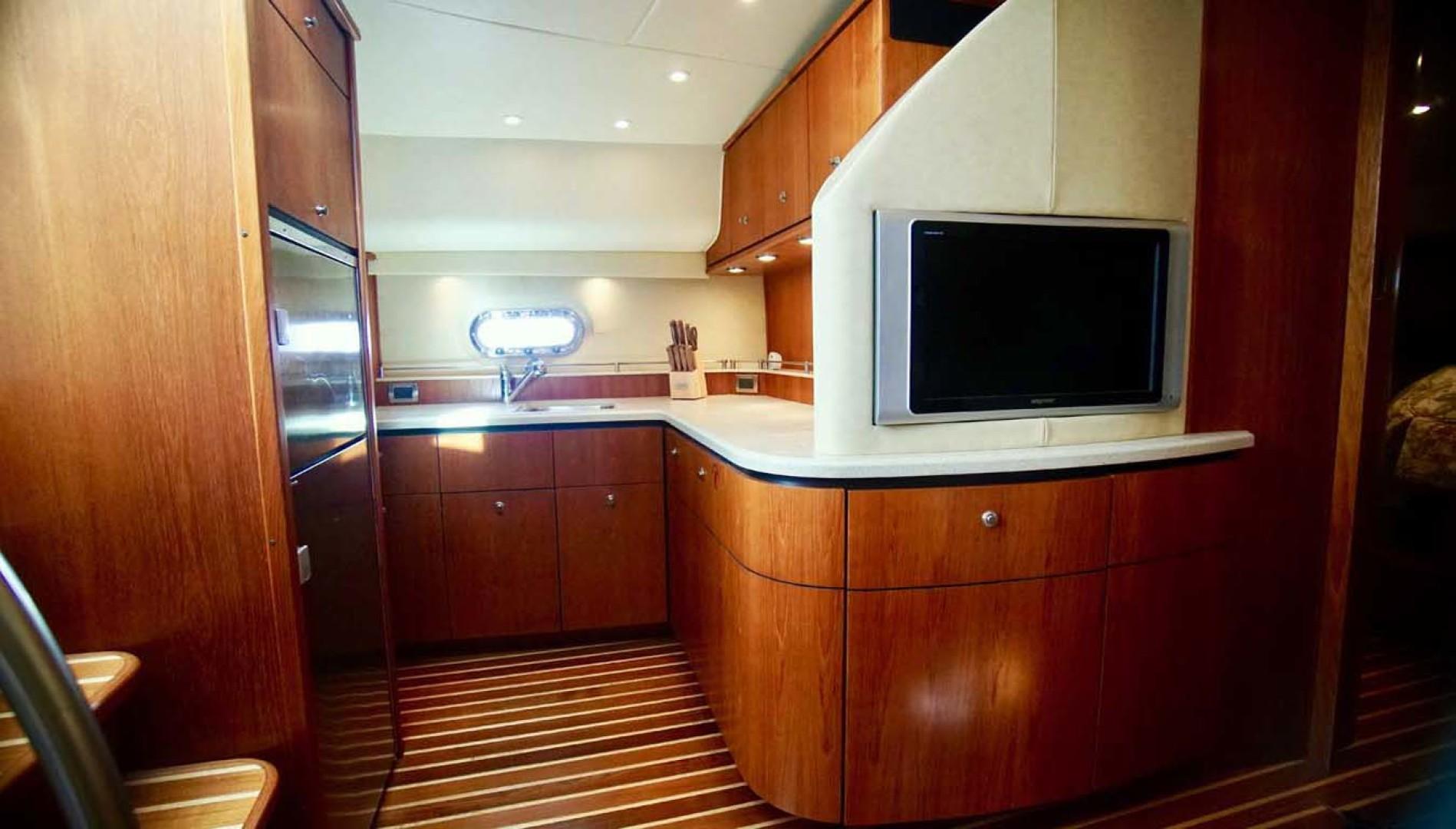 Tiara Yachts-4300 Sovran 2007-Lisa Anne Perdido Key-Florida-United States-Galley to Port-1103611 | Thumbnail