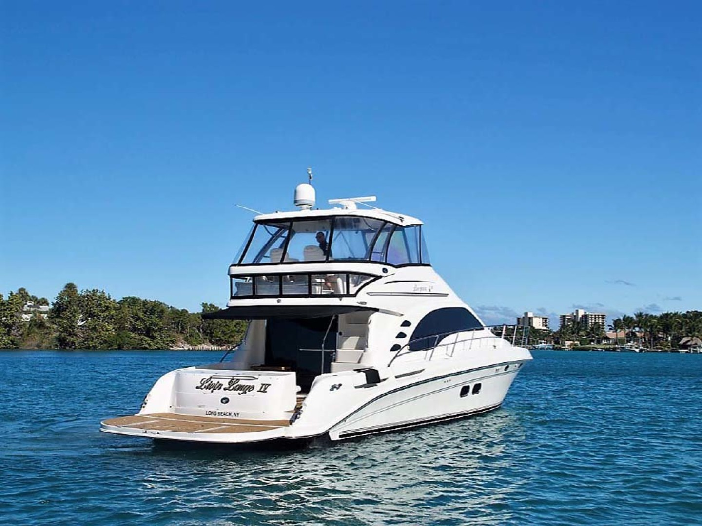 Sea Ray-58 Sedan Bridge 2006-Livin Large IV Jupiter-Florida-United States-Starboard Quarter-1103665 | Thumbnail