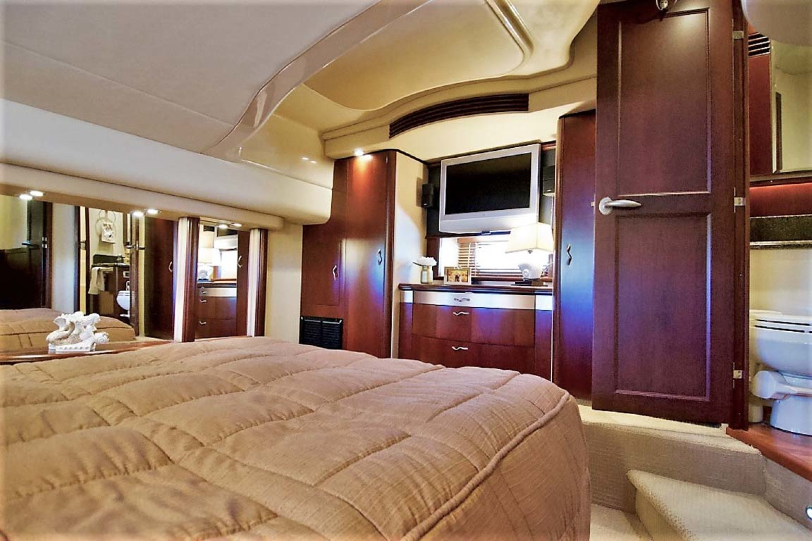 Sea Ray-58 Sedan Bridge 2006-Livin Large IV Jupiter-Florida-United States-Master Stateroom-1103686 | Thumbnail