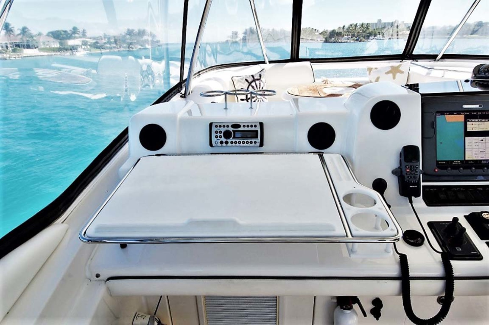 Sea Ray-58 Sedan Bridge 2006-Livin Large IV Jupiter-Florida-United States-Custom Chart Table-1103705 | Thumbnail