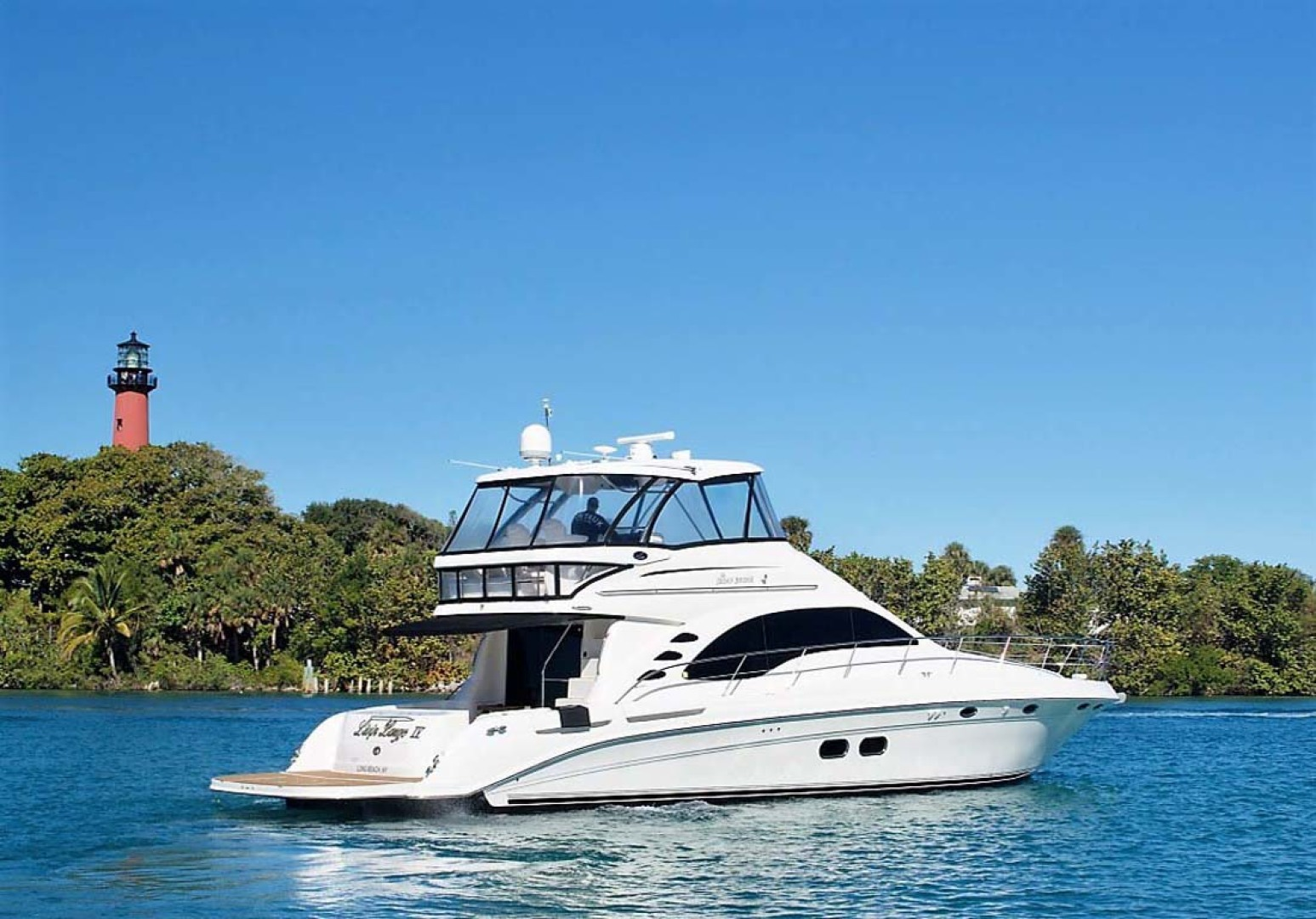 Sea Ray-58 Sedan Bridge 2006-Livin Large IV Jupiter-Florida-United States-Starboard-1103661 | Thumbnail