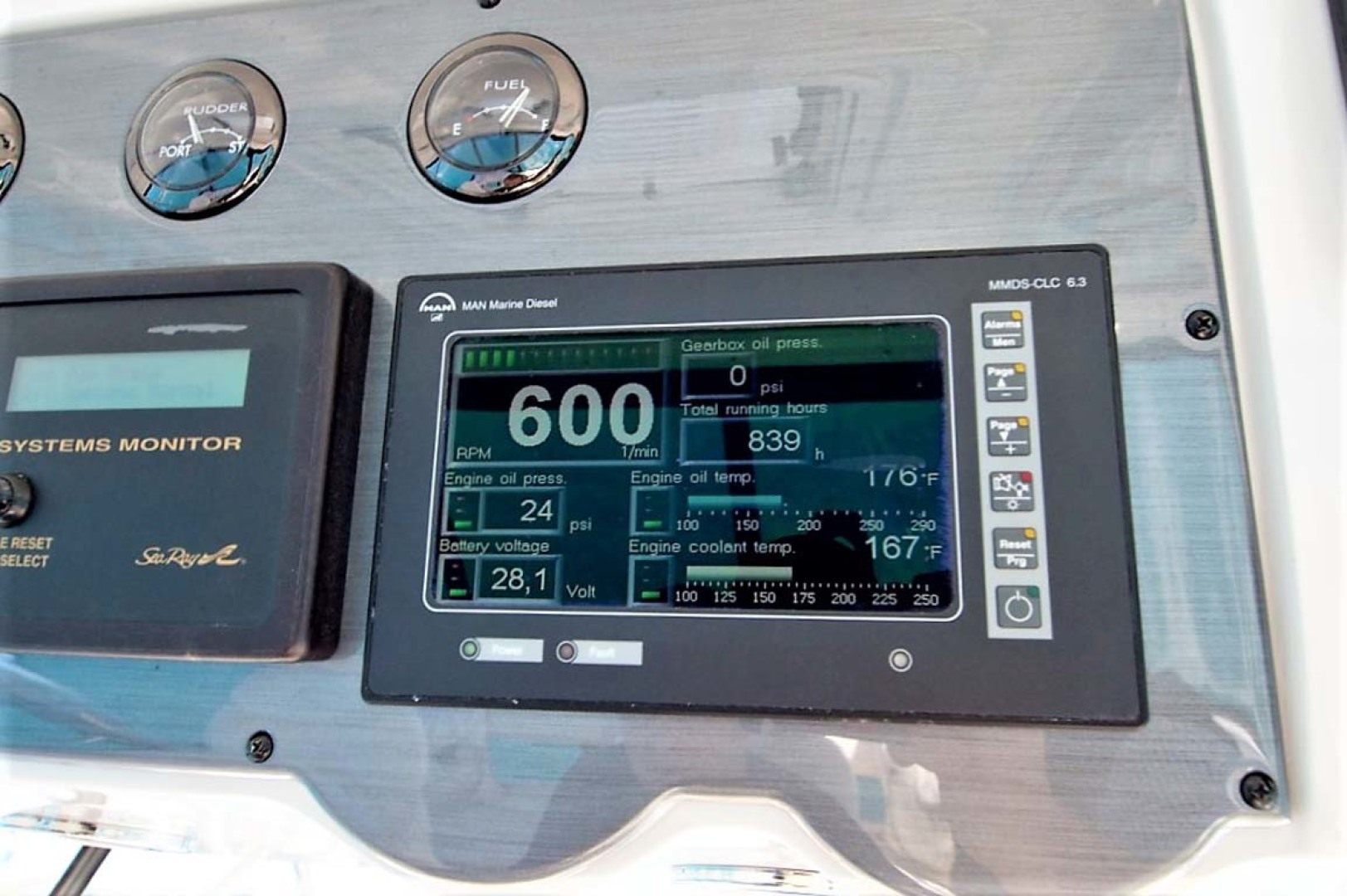 Sea Ray-58 Sedan Bridge 2006-Livin Large IV Jupiter-Florida-United States-Hour Meter-1103704 | Thumbnail