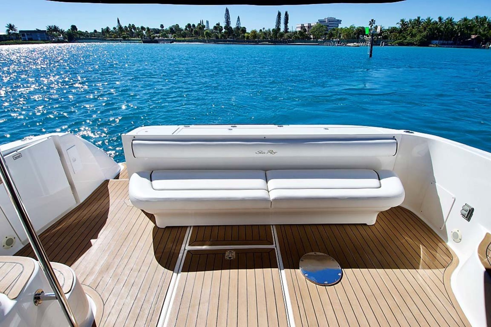 Sea Ray-58 Sedan Bridge 2006-Livin Large IV Jupiter-Florida-United States-Cockpit-1103714 | Thumbnail