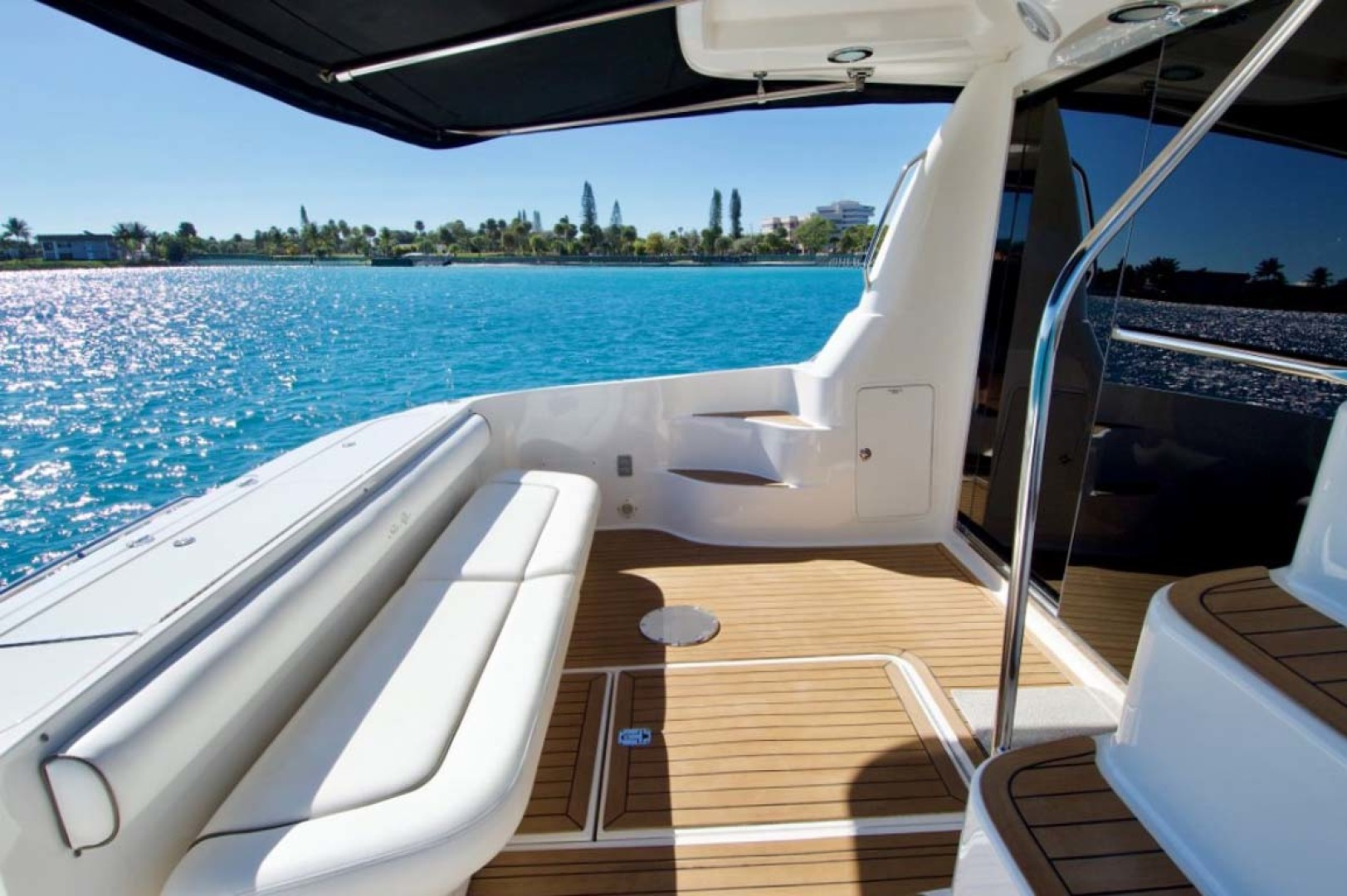 Sea Ray-58 Sedan Bridge 2006-Livin Large IV Jupiter-Florida-United States-Cockpit-1103711 | Thumbnail