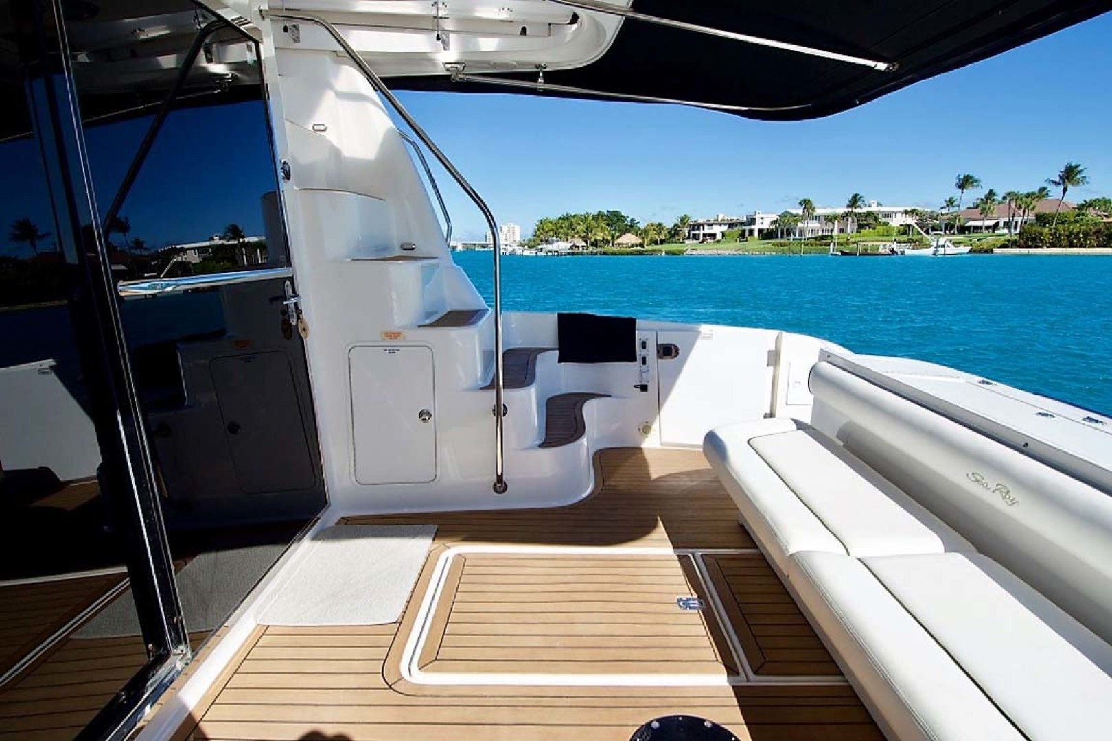 Sea Ray-58 Sedan Bridge 2006-Livin Large IV Jupiter-Florida-United States-Cockpit-1103713 | Thumbnail
