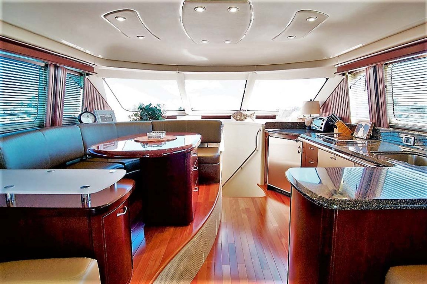 Sea Ray-58 Sedan Bridge 2006-Livin Large IV Jupiter-Florida-United States-Galley Dinette-1103679 | Thumbnail