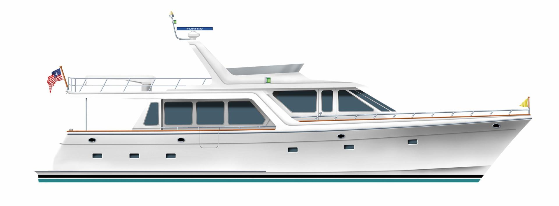 2020 Offshore Yachts 66' 66/72 Pilothouse