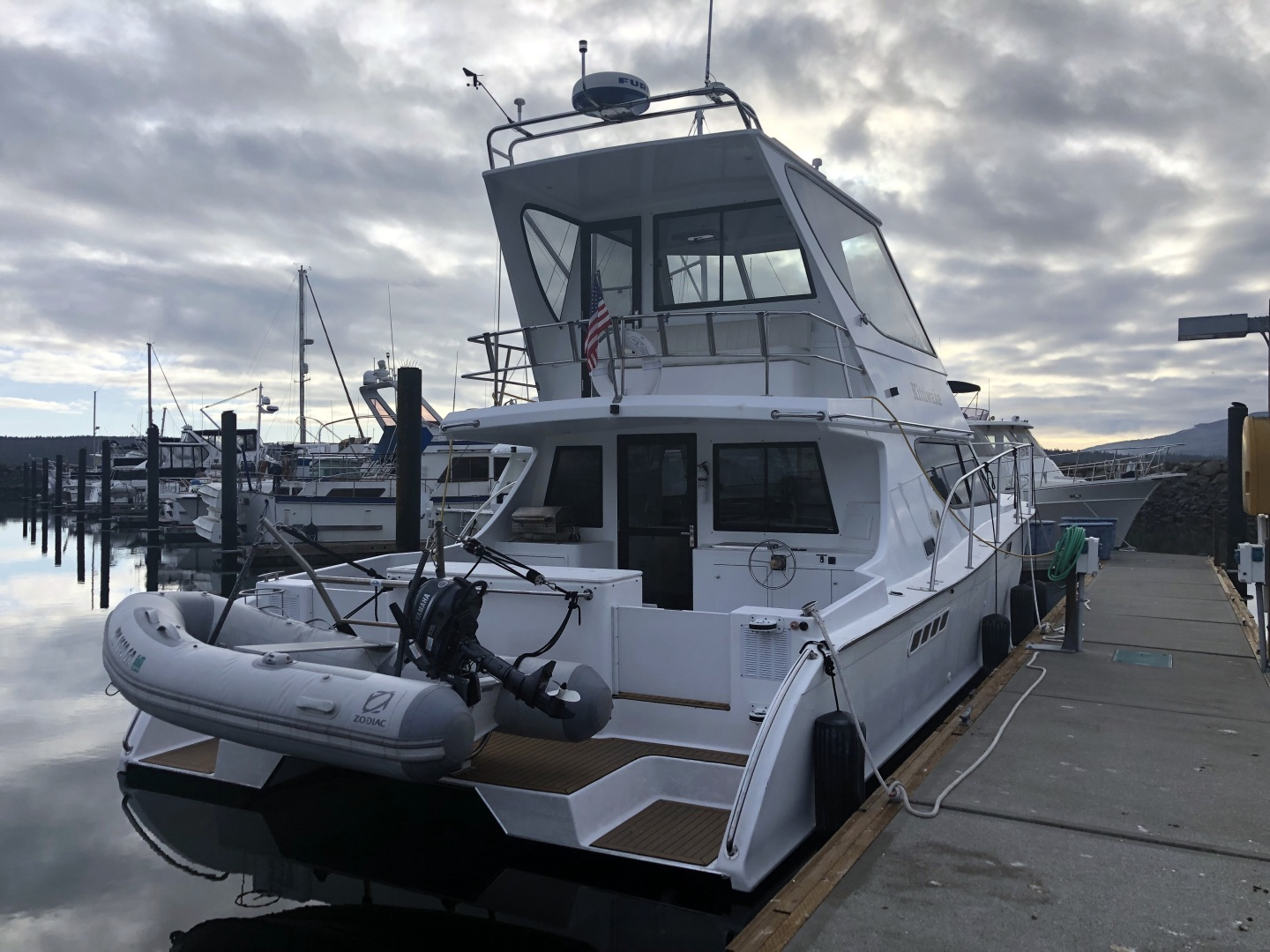 Custom-TLD New Zealand Power Cat 41 2004-Kittiwake Sequim-Washington-United States-Stern View-1137132 | Thumbnail