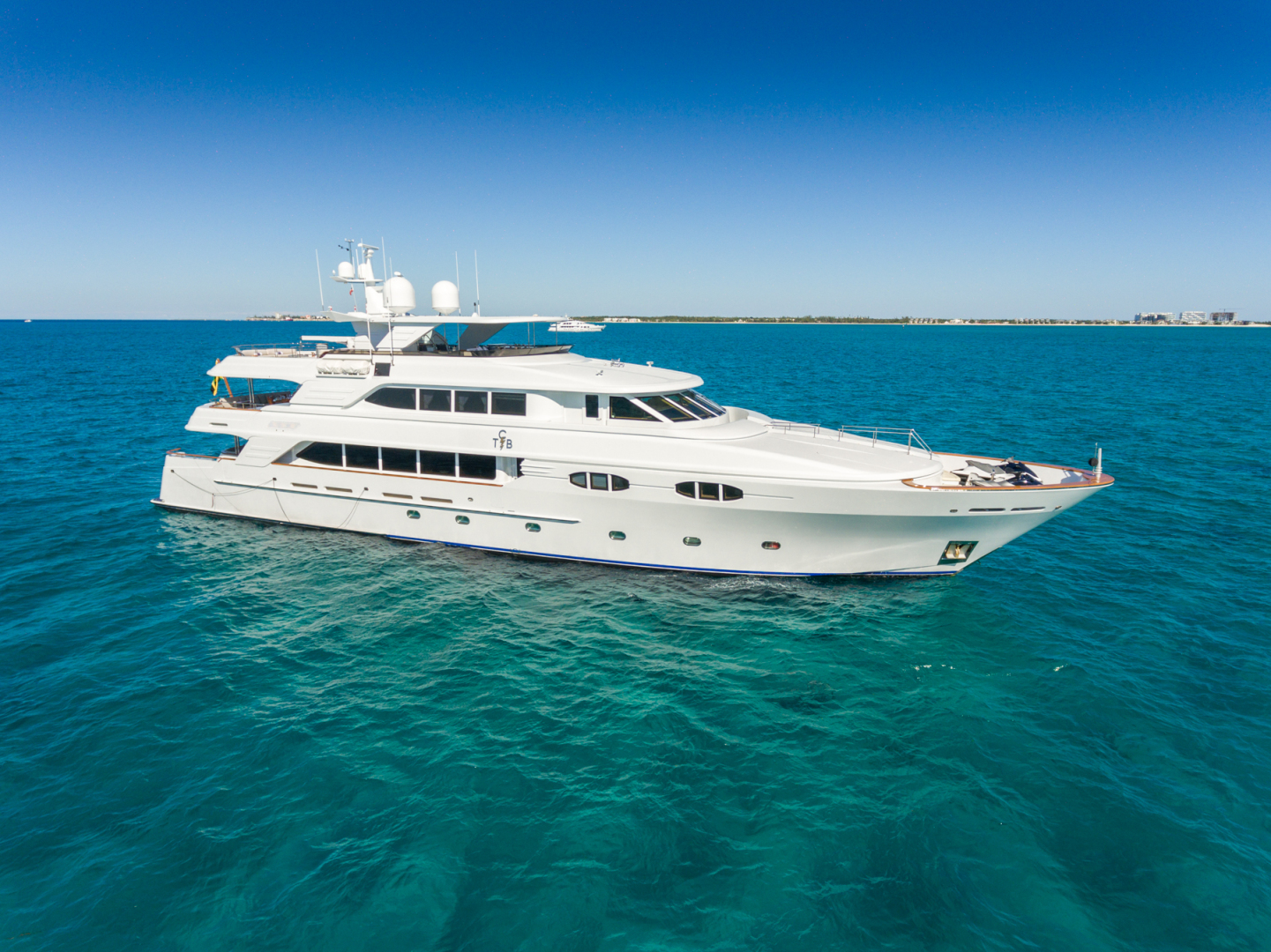 "2004 Richmond Yachts 138' 138 Tri-Deck ""TCB"""