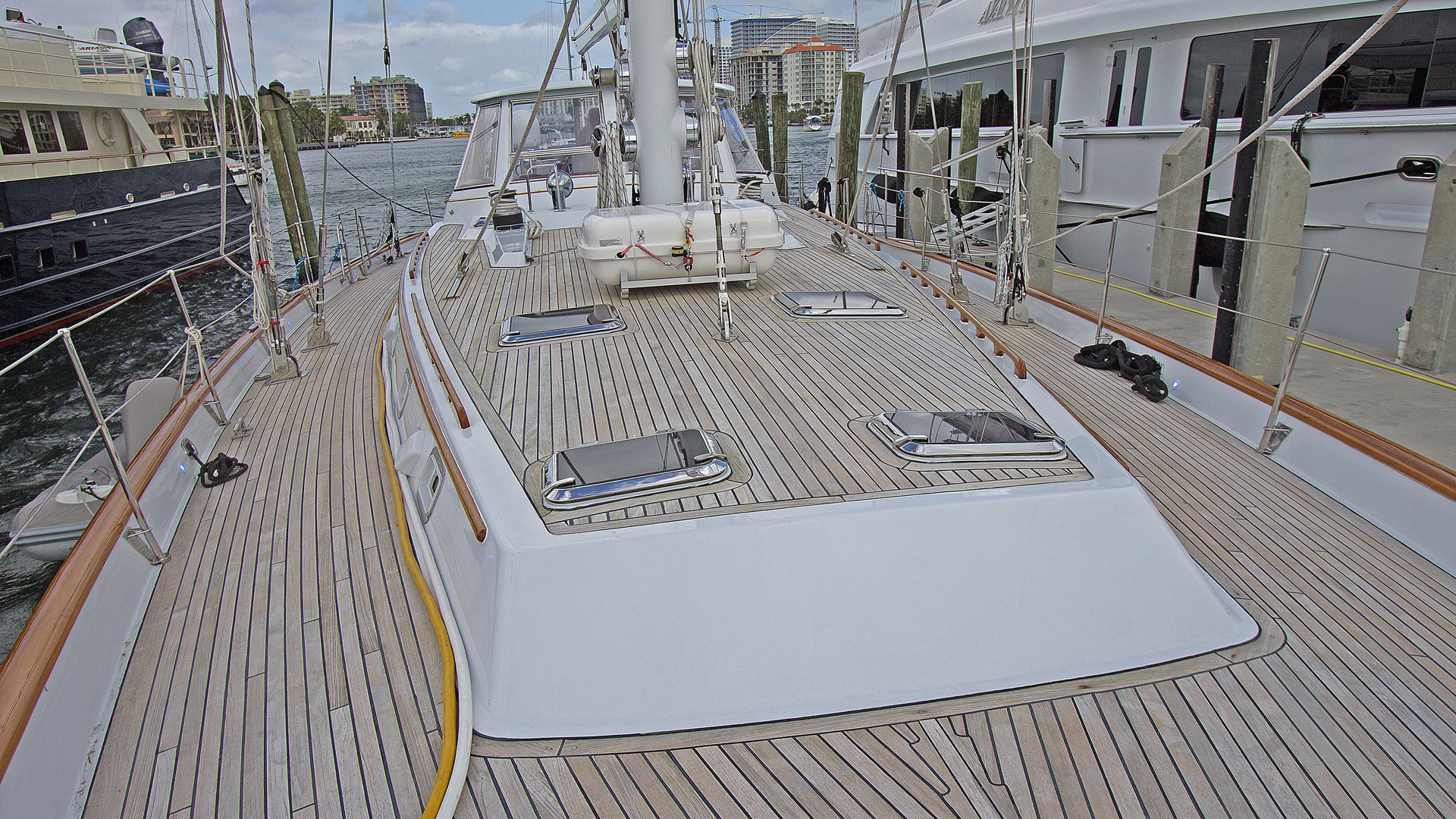 Picture Of: 80' Gulfstar Enclosed Cockpit 1986 Yacht For Sale | 2 of 37