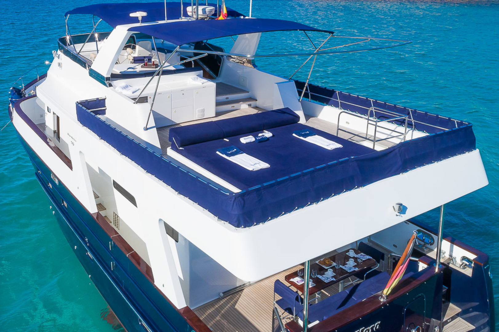 Custom-Blue Sailor Shipyard 70  2007-MAXMARA Palma de Mallorca-Spain-1114849 | Thumbnail