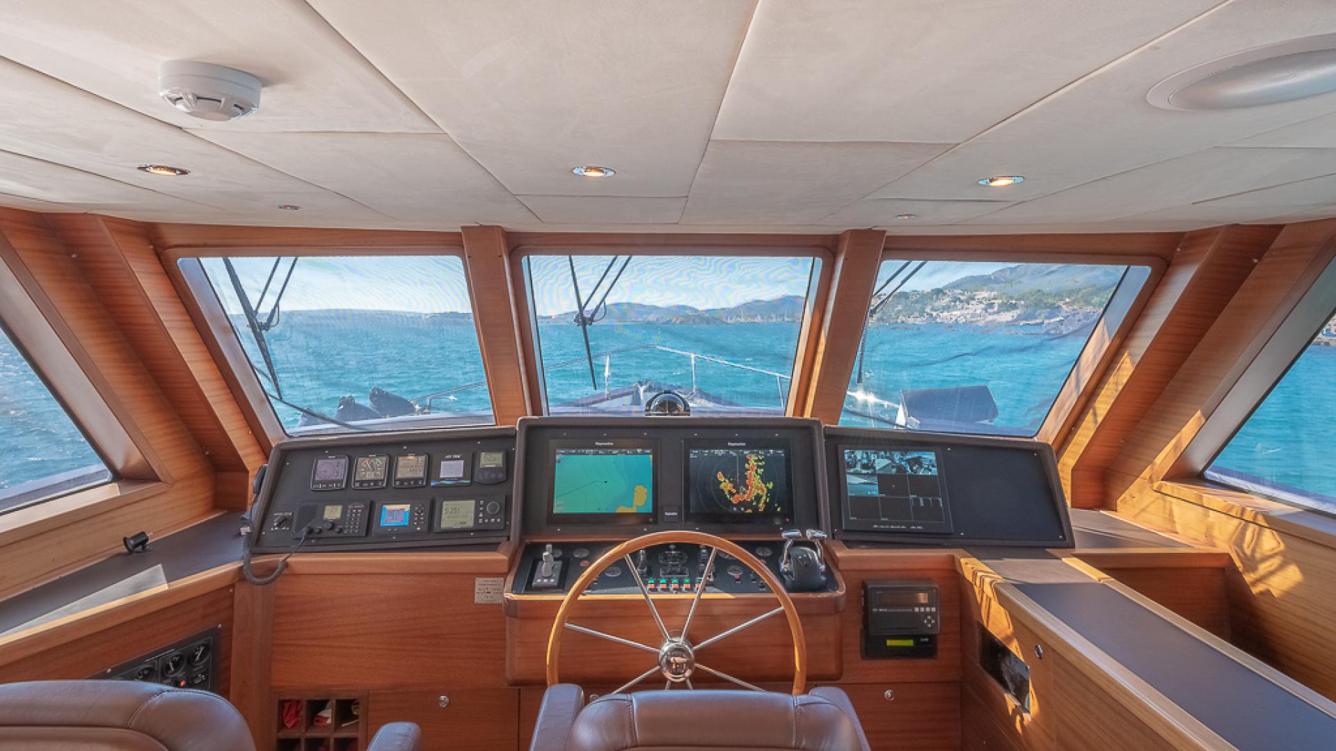 Custom-Blue Sailor Shipyard 70  2007-MAXMARA Palma de Mallorca-Spain-1114877 | Thumbnail