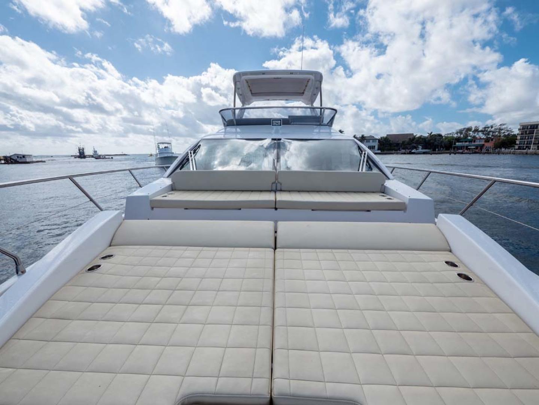 Azimut-50 Flybridge 2016-JET PRIVÉ Fort Lauderdale-Florida-United States-Foredeck Sun Pad-1116391 | Thumbnail