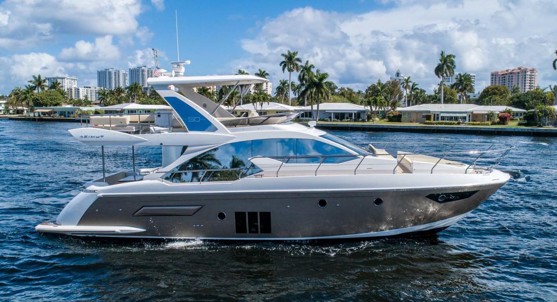Azimut-50 Flybridge 2016-JET PRIVÉ Fort Lauderdale-Florida-United States-Starboard Profile-1116386 | Thumbnail