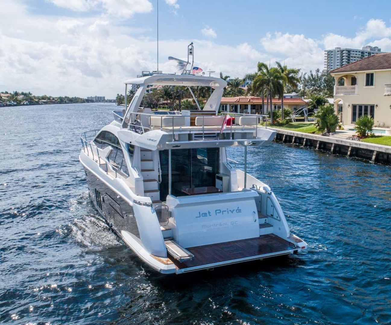 Azimut-50 Flybridge 2016-JET PRIVÉ Fort Lauderdale-Florida-United States-Stern-1116388 | Thumbnail