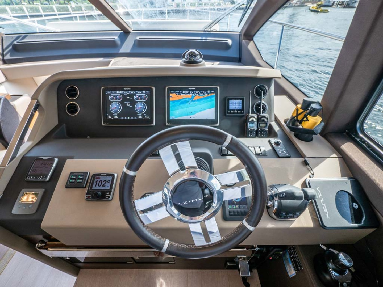 Azimut-50 Flybridge 2016-JET PRIVÉ Fort Lauderdale-Florida-United States-Lower Helm Electronics-1116419 | Thumbnail