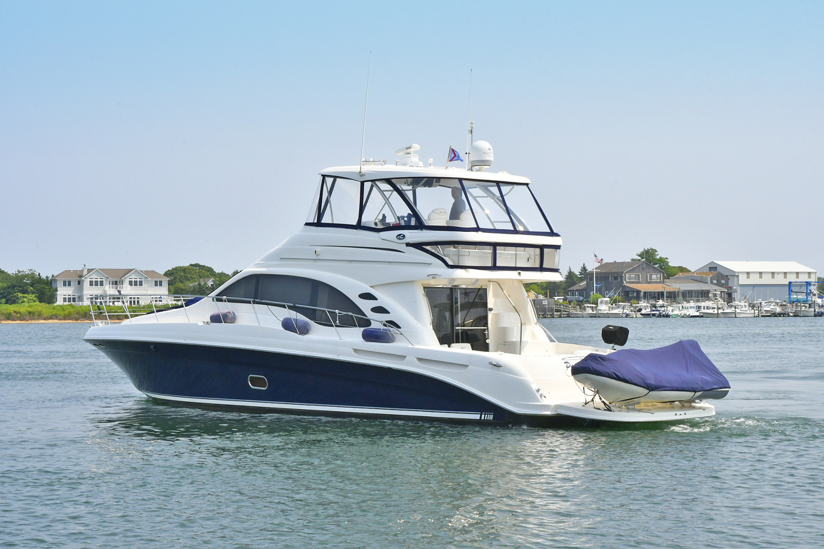 Picture Of: 58' Sea Ray 58 Sedan Bridge 2007 Yacht For Sale | 2 of 44