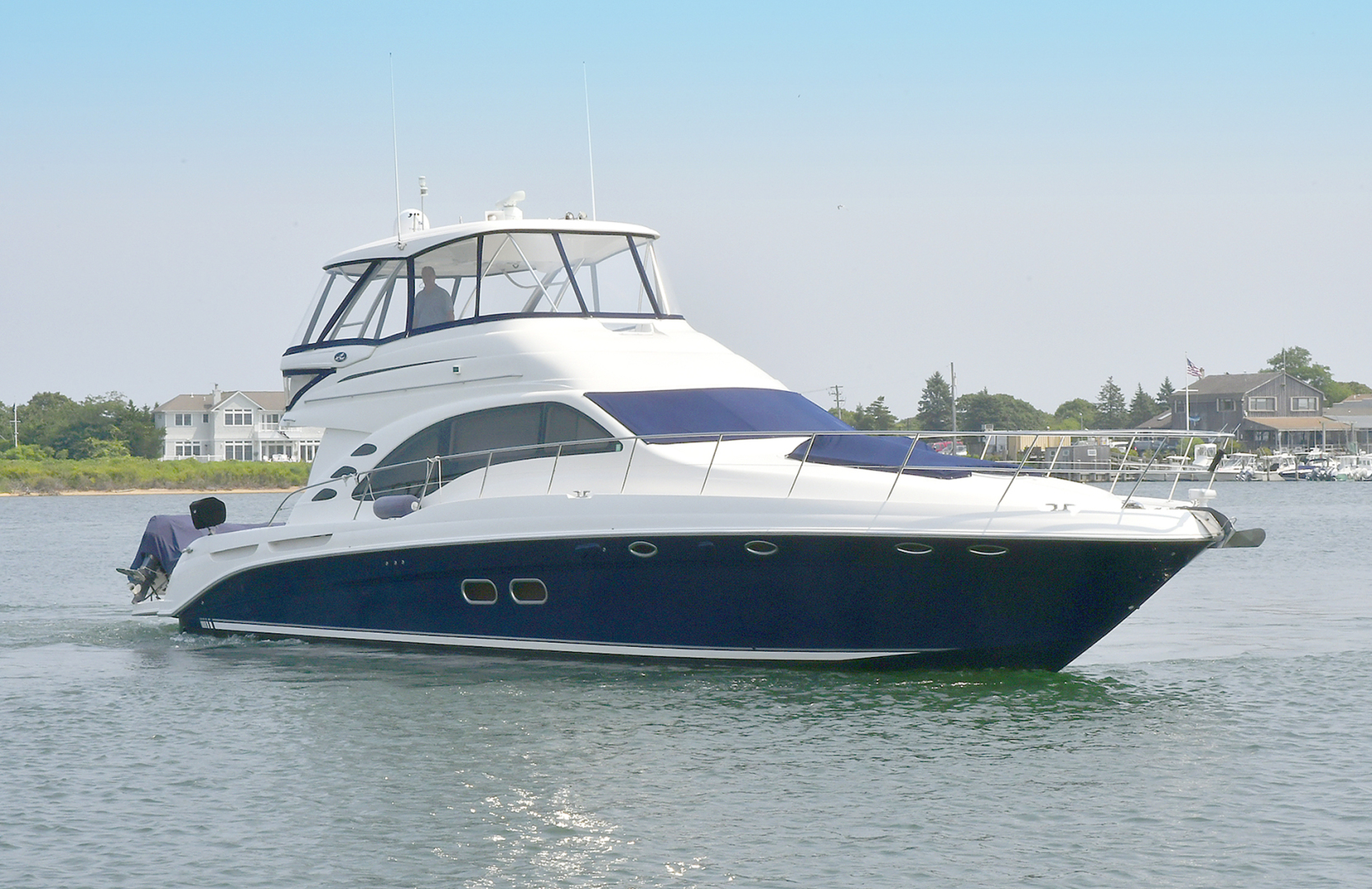 Sea Ray-58 Sedan Bridge 2007-Patti Ann IV Montauk-New York-United States-Starboard Side Bow-1116854 | Thumbnail