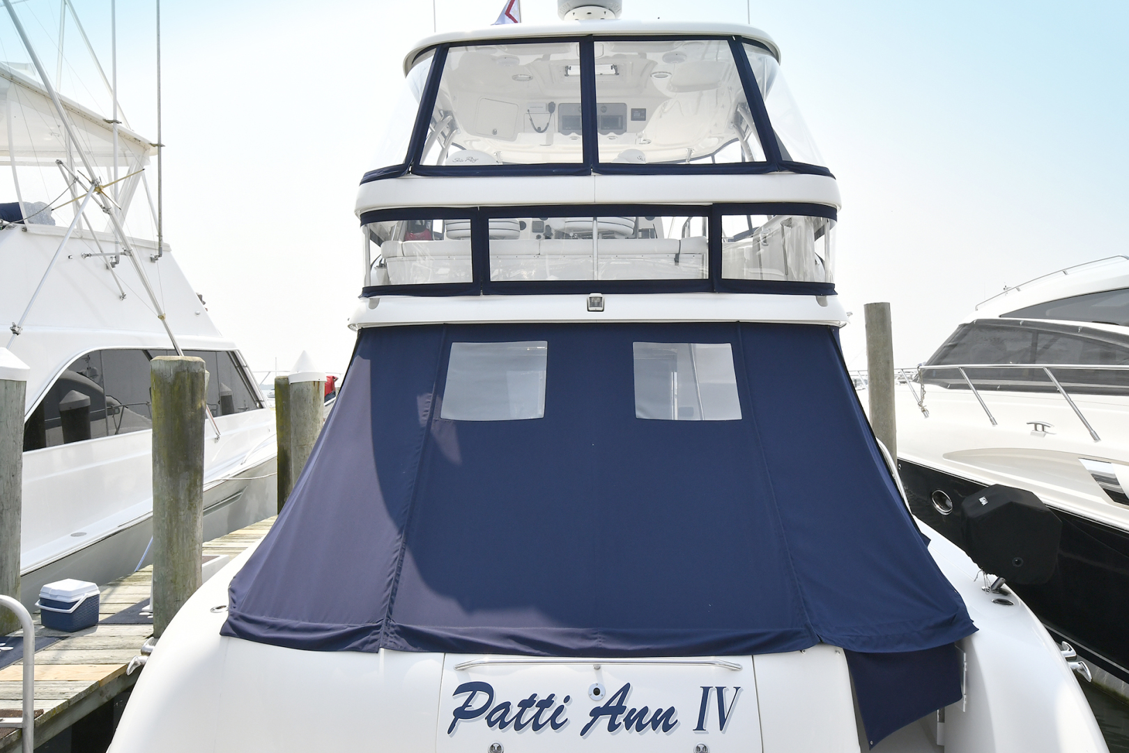 Sea Ray-58 Sedan Bridge 2007-Patti Ann IV Montauk-New York-United States-Canvas-1116857 | Thumbnail