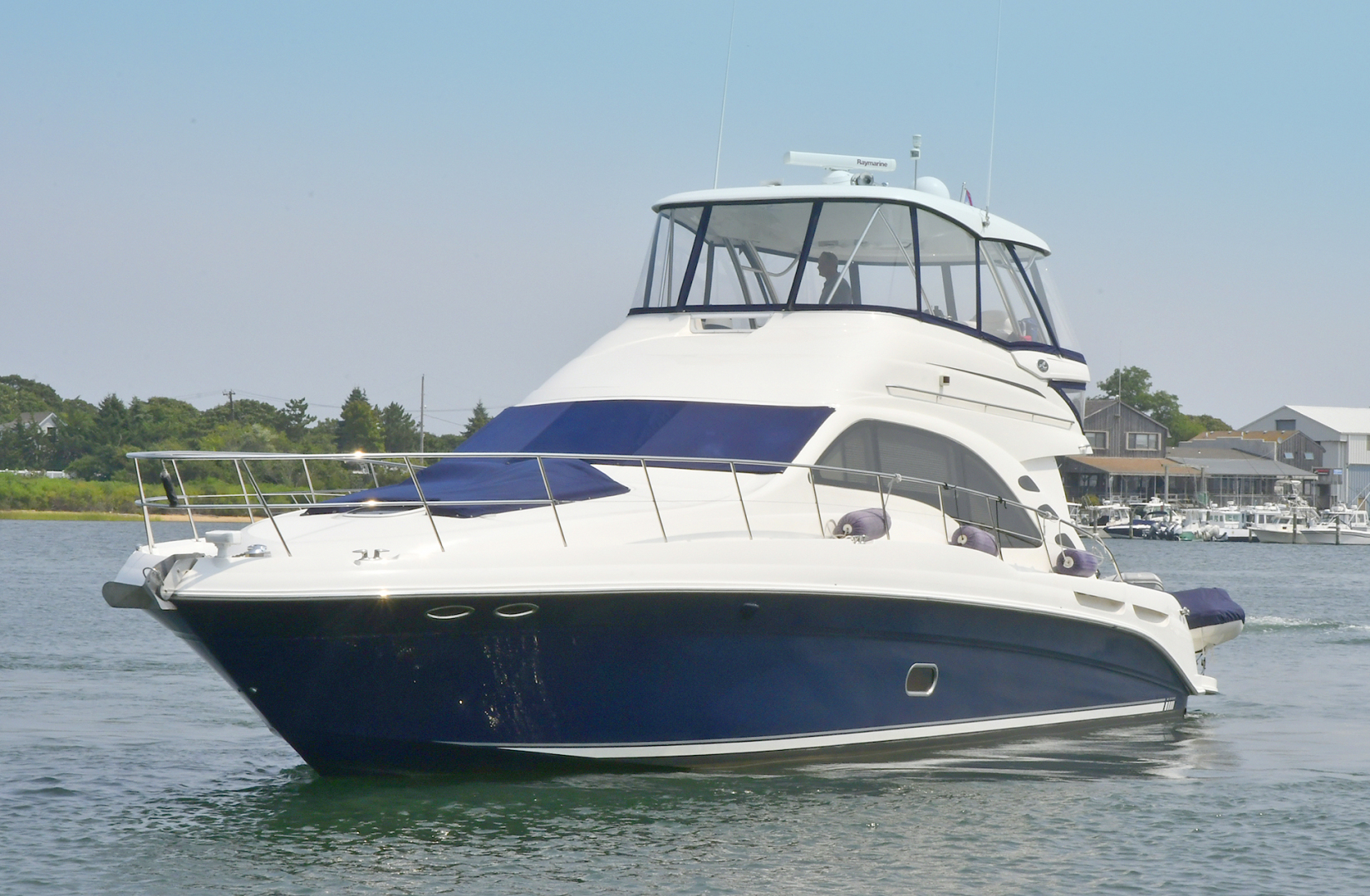 Sea Ray-58 Sedan Bridge 2007-Patti Ann IV Montauk-New York-United States-Port Side Bow-1116856 | Thumbnail
