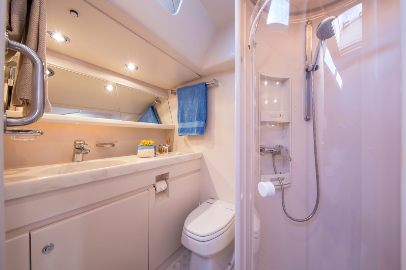 Jongert-2900M 1991-ALTA MAREA Palma de Mallorca-Spain-Guest Cabin Bathroom -1117271   Thumbnail