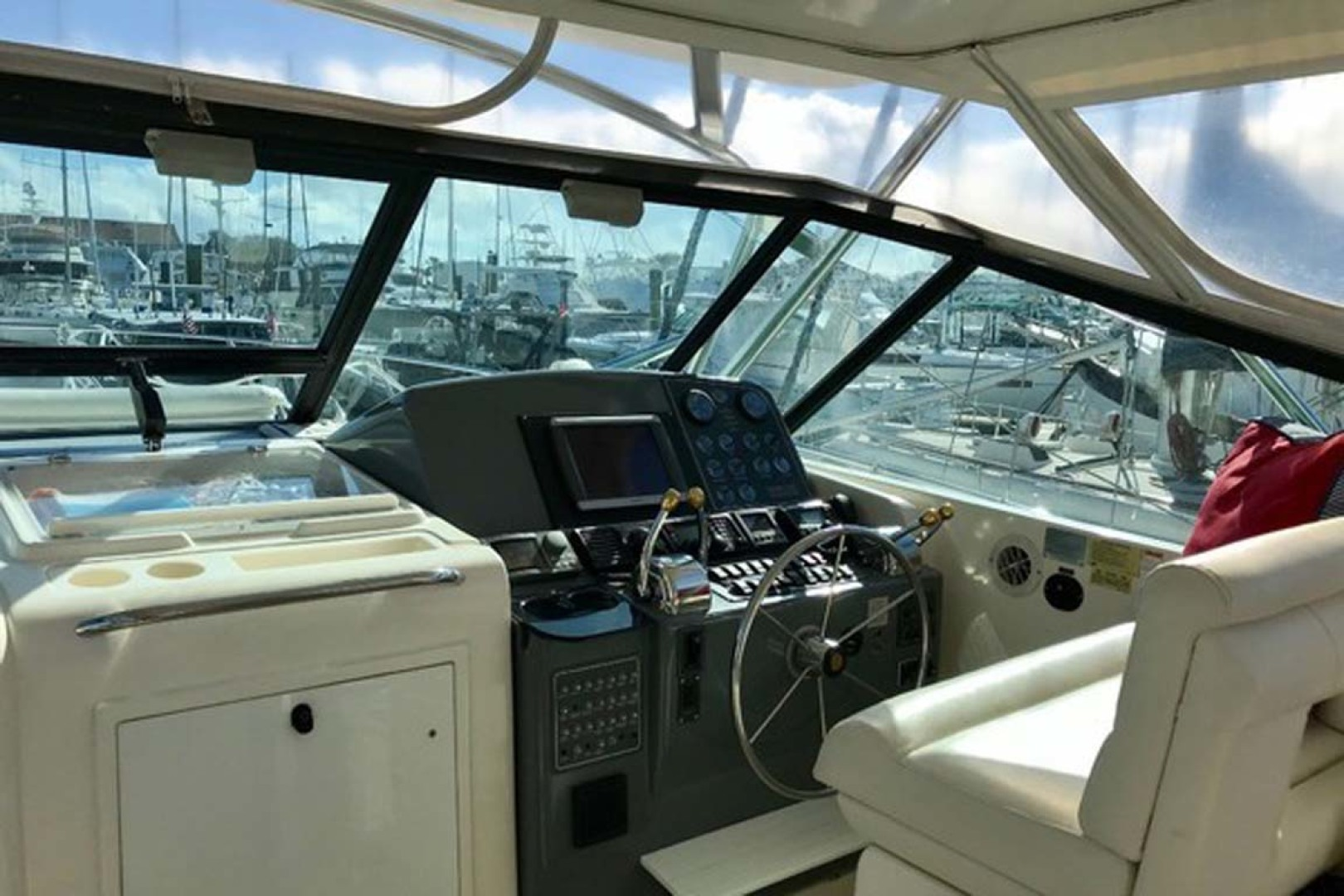 Tiara Yachts-Open 1997-Cadiz Saint Augustine-Florida-United States-Lower Helm Station-1117948 | Thumbnail