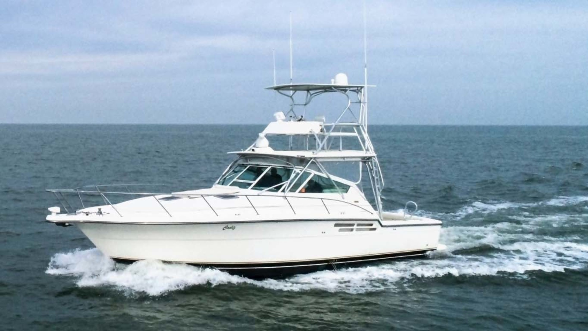 Tiara Yachts-Open 1997-Cadiz Saint Augustine-Florida-United States-Full Side View Underway-1117927 | Thumbnail