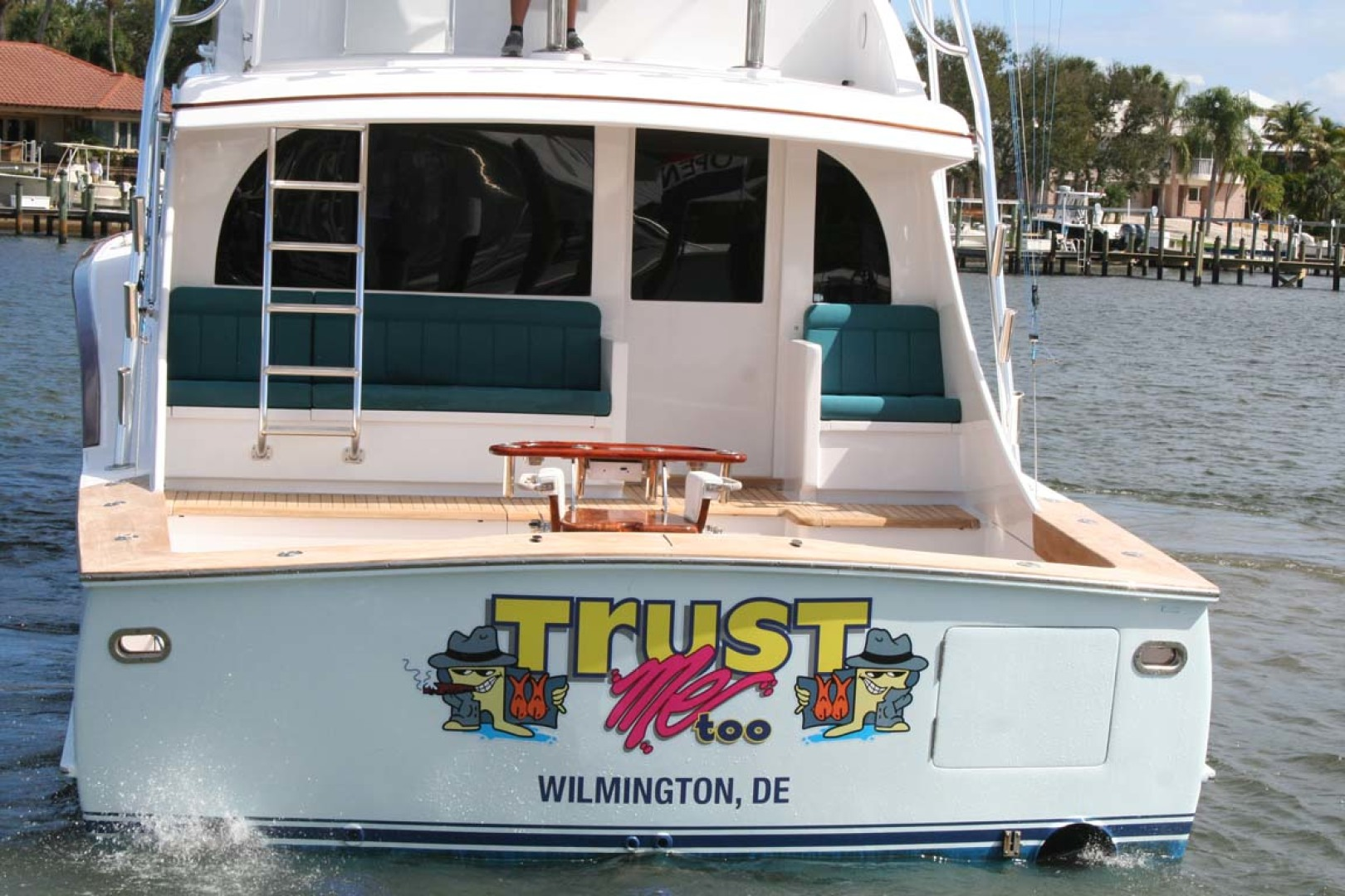 Titan-62 Custom Carolina Sportfish 2004-Trust Me Too Stuart-Florida-United States-Stern View-1118272 | Thumbnail