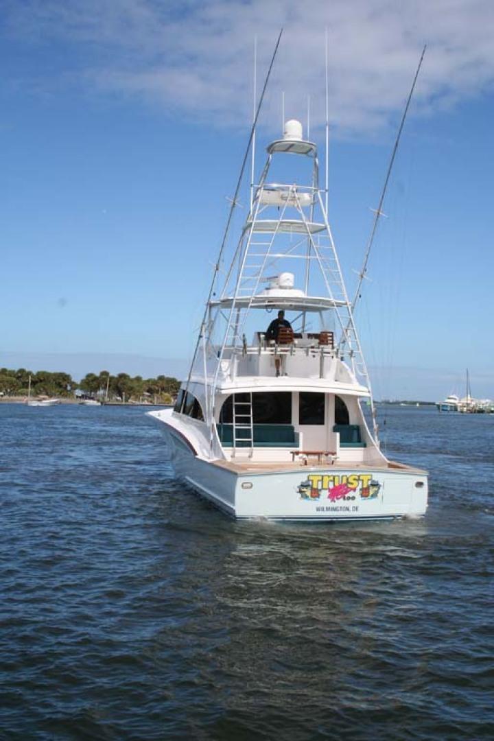 Titan-62 Custom Carolina Sportfish 2004-Trust Me Too Stuart-Florida-United States-Port Aft Quarter-1118280 | Thumbnail