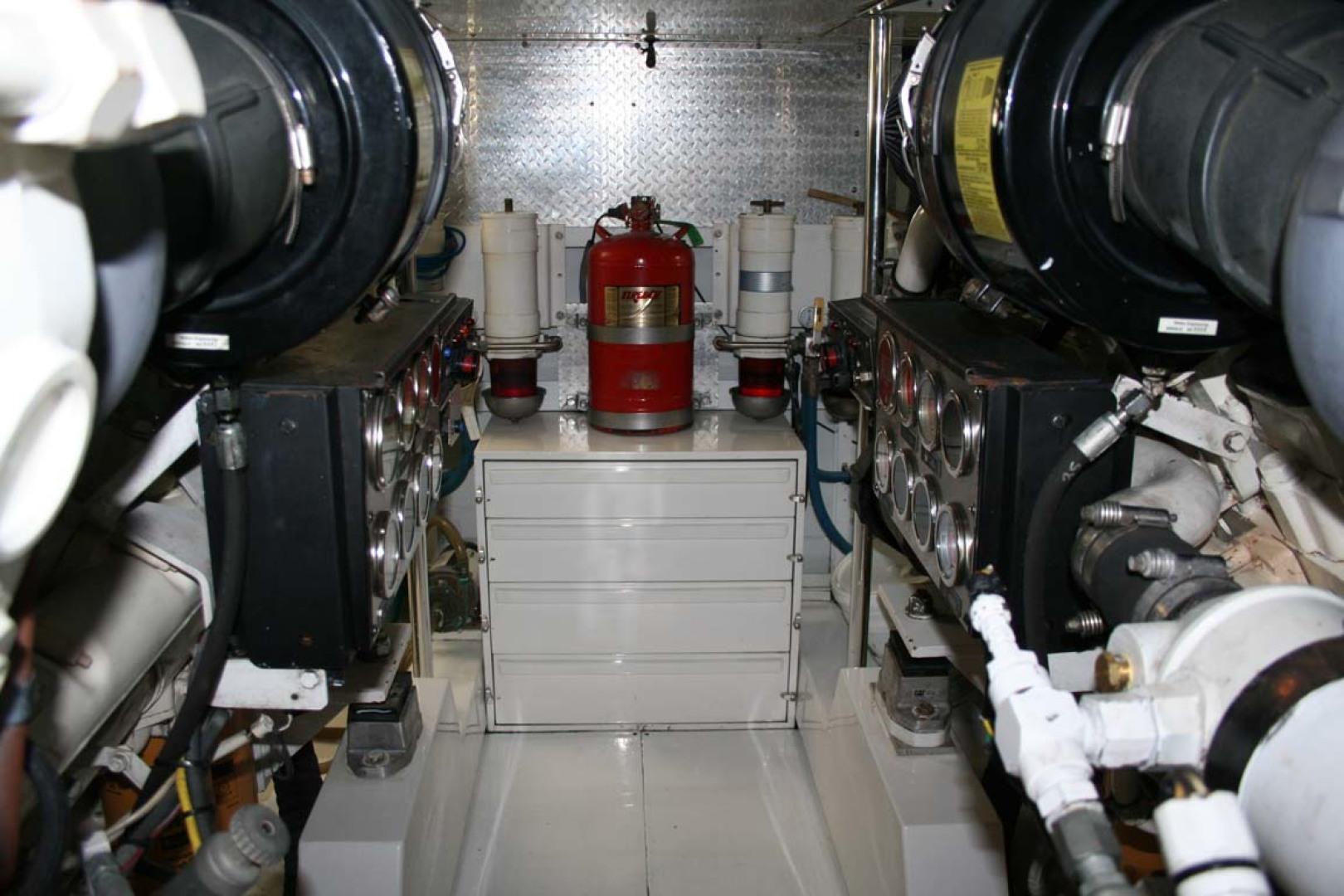 Titan-62 Custom Carolina Sportfish 2004-Trust Me Too Stuart-Florida-United States-Engine Room-1118274 | Thumbnail