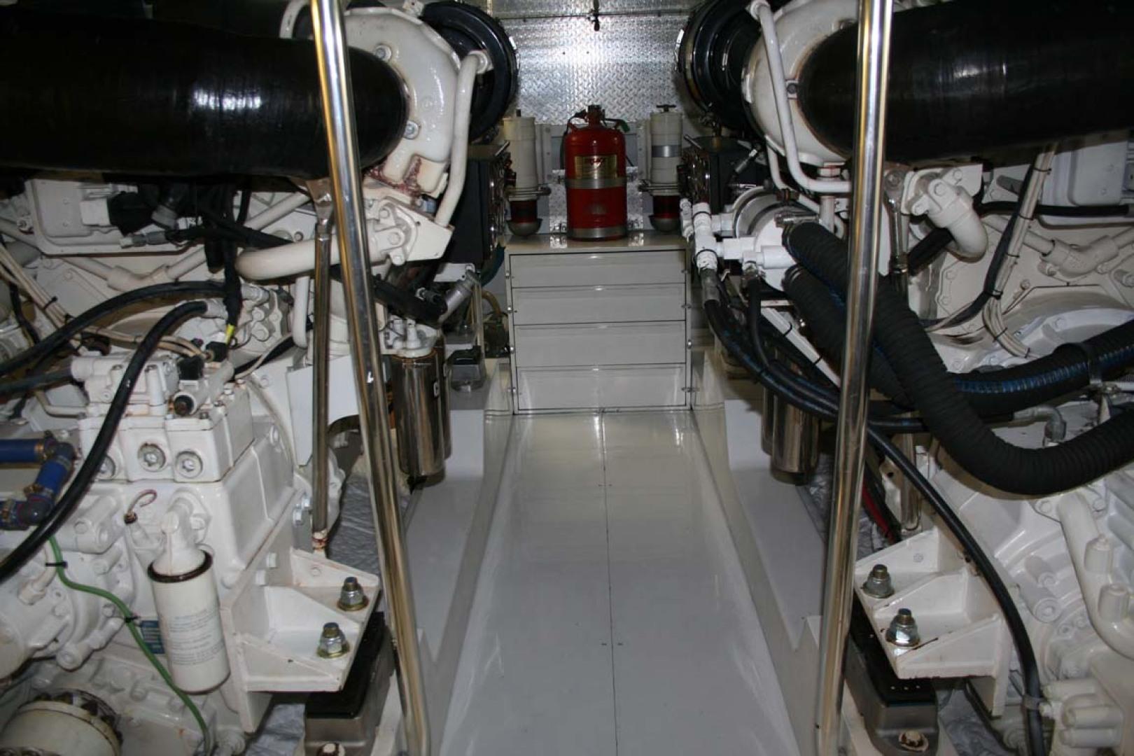 Titan-62 Custom Carolina Sportfish 2004-Trust Me Too Stuart-Florida-United States-Engine Room-1118273 | Thumbnail