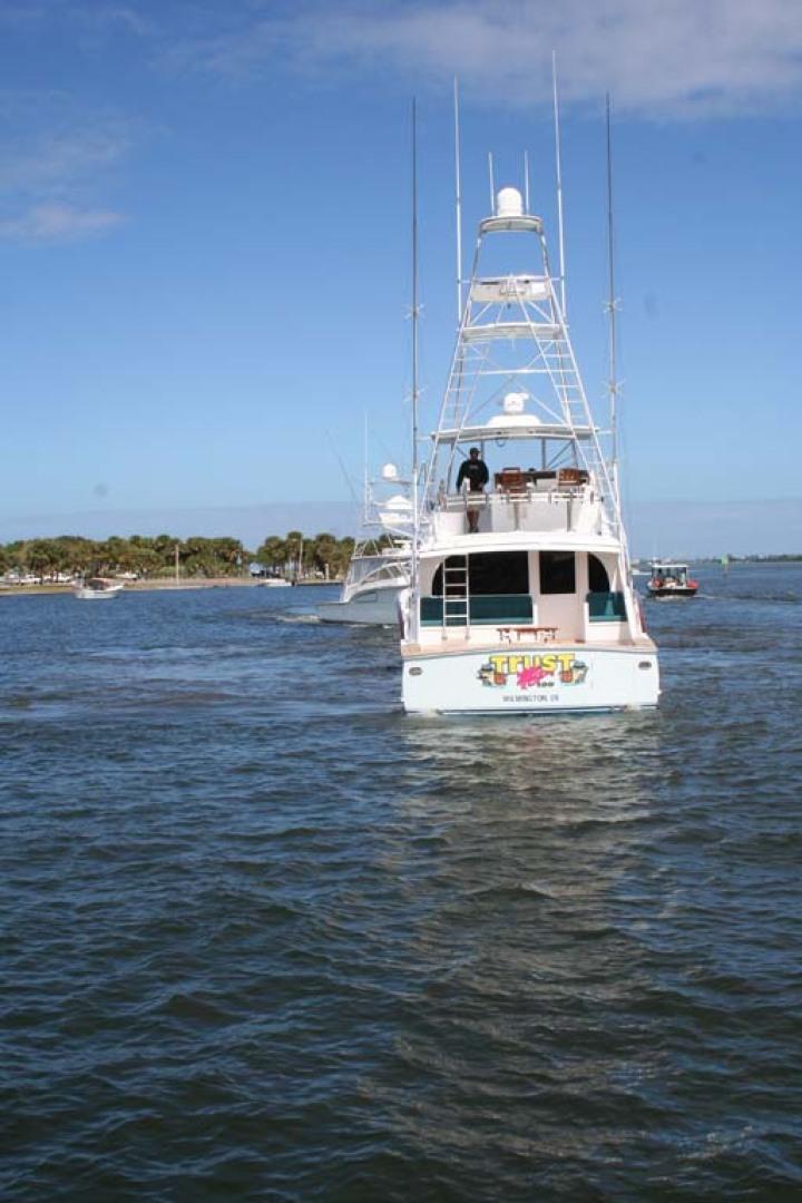 Titan-62 Custom Carolina Sportfish 2004-Trust Me Too Stuart-Florida-United States-Stern View-1118281 | Thumbnail