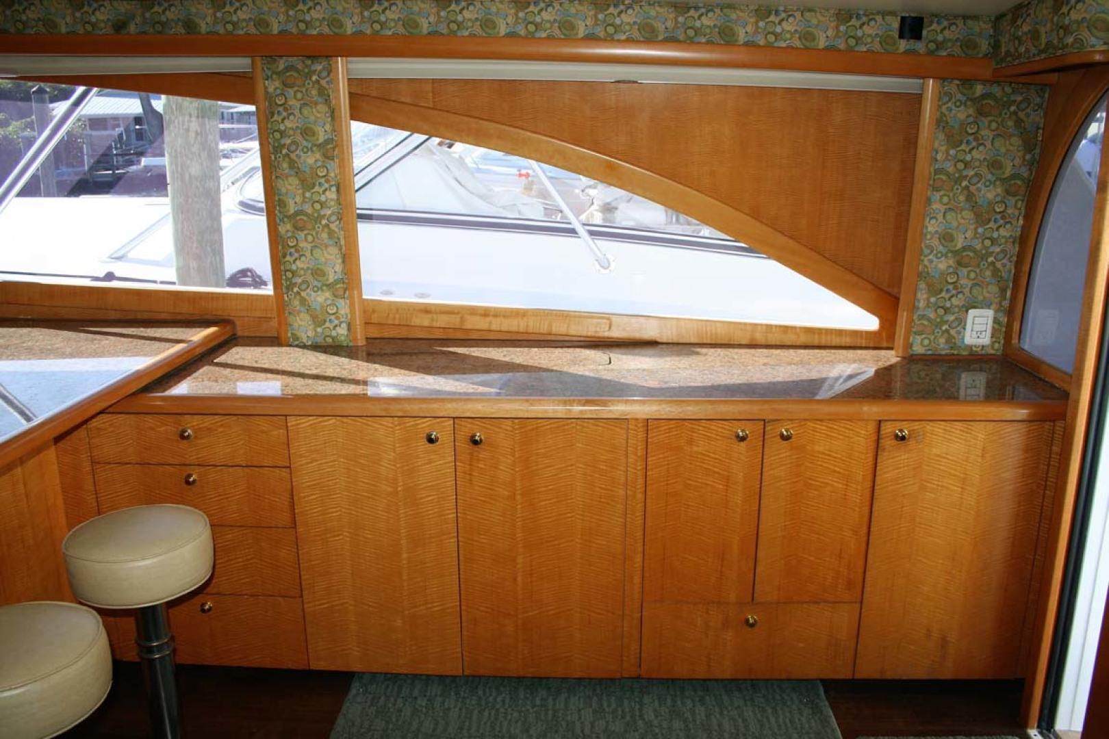 Titan-62 Custom Carolina Sportfish 2004-Trust Me Too Stuart-Florida-United States-Salon Starboard Side-1118208 | Thumbnail