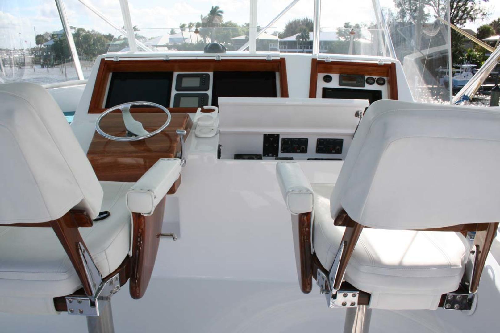 Titan-62 Custom Carolina Sportfish 2004-Trust Me Too Stuart-Florida-United States-Helm Chairs-1118259 | Thumbnail