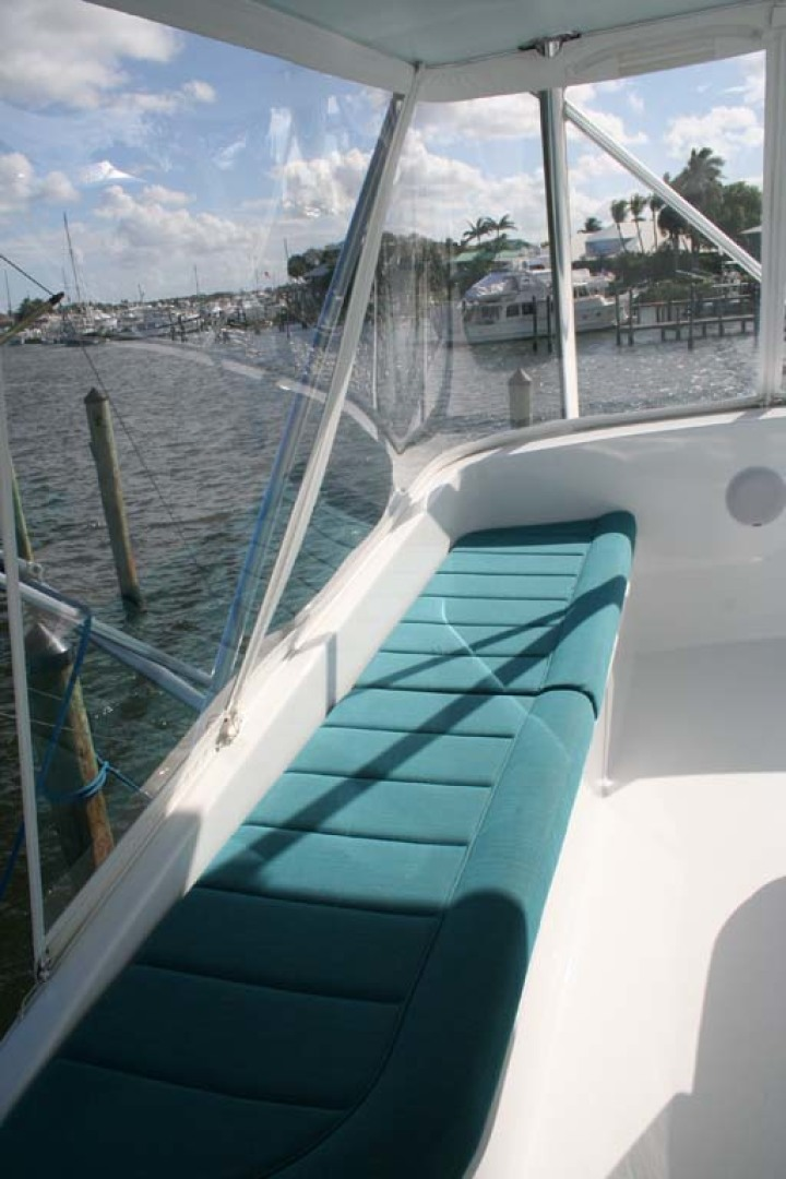 Titan-62 Custom Carolina Sportfish 2004-Trust Me Too Stuart-Florida-United States-Port Bench on Flybridge-1118252 | Thumbnail