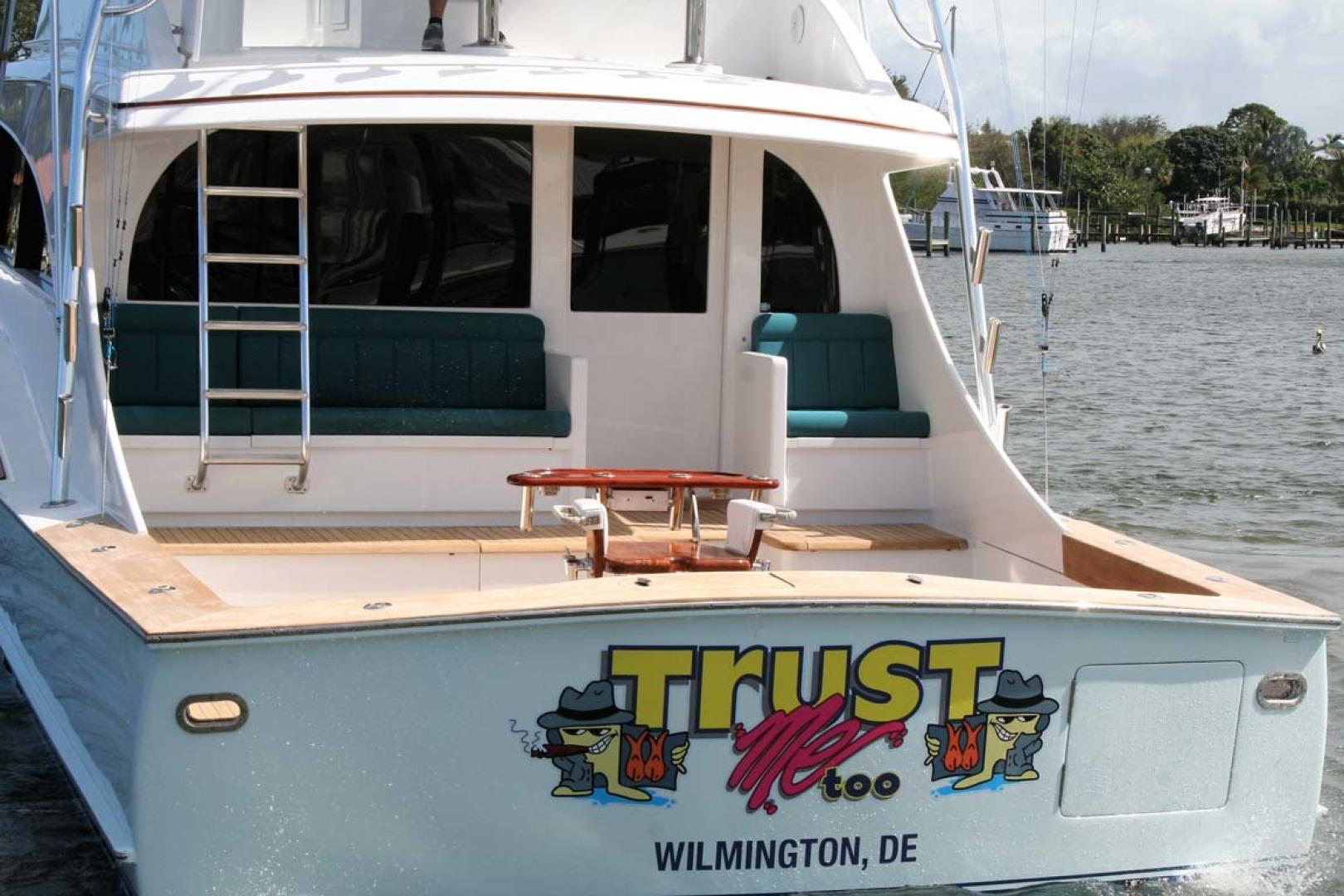 Titan-62 Custom Carolina Sportfish 2004-Trust Me Too Stuart-Florida-United States-Transom-1118271 | Thumbnail