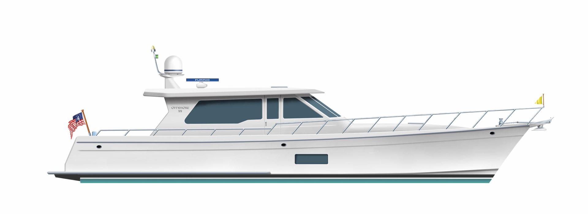 2020 Offshore Yachts 54' Sport Sedan