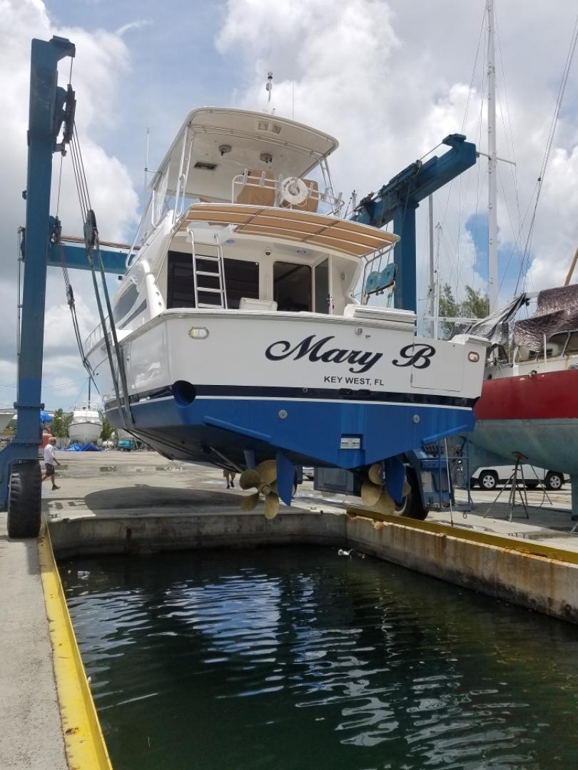 Bertram-510 Convertible 2002-Mary B Oceans Edge Hotel and Marina, Key West-Florida-United States-Haulout-1137036 | Thumbnail