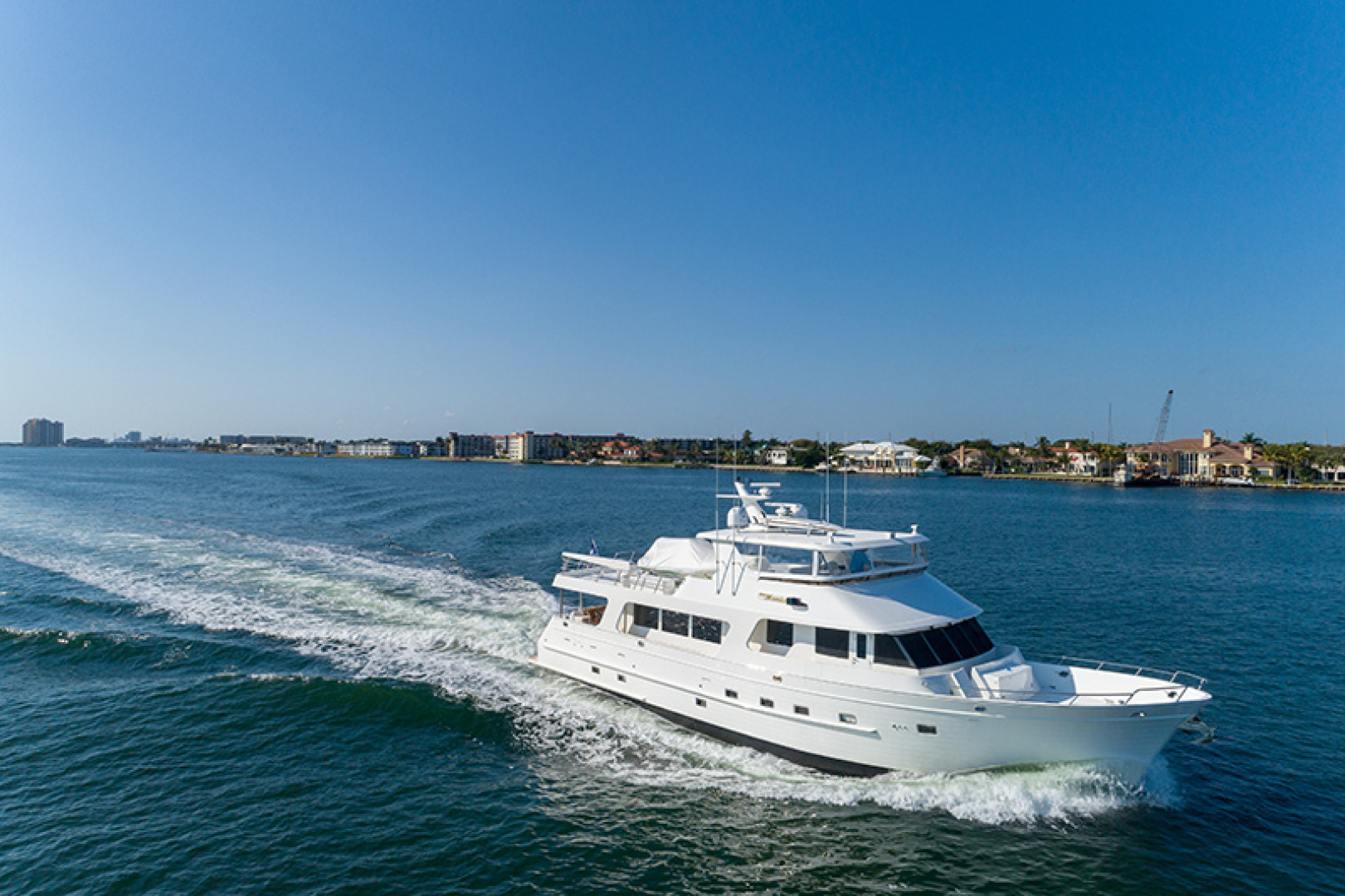 Outer Reef Yachts-Raised Pilothouse 2007-MS. MONICA Palm Beach Gardens-Florida-United States-Starboard Running-1119582   Thumbnail