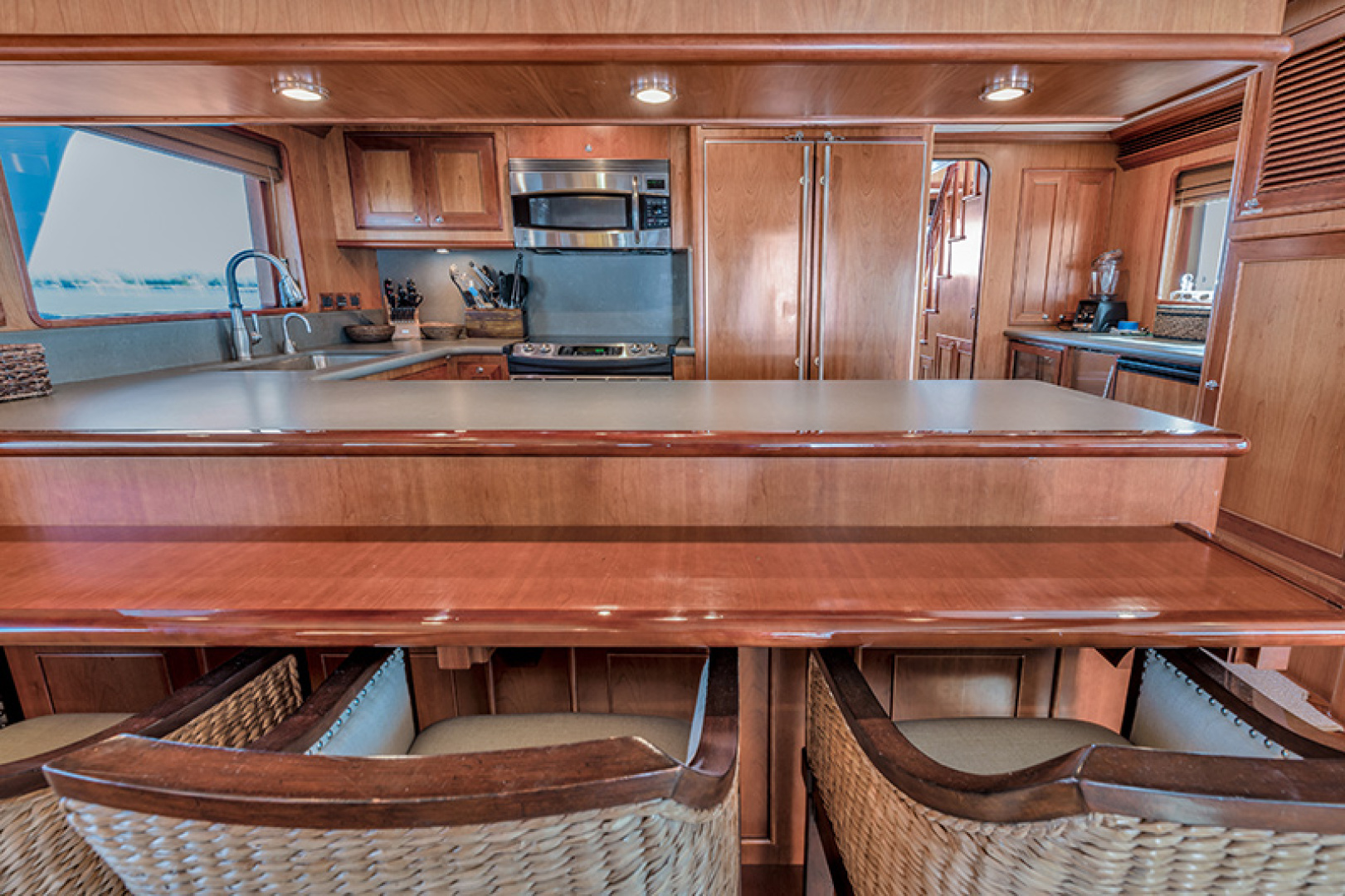 Outer Reef Yachts-Raised Pilothouse 2007-MS. MONICA Palm Beach Gardens-Florida-United States-Galley-1119557   Thumbnail