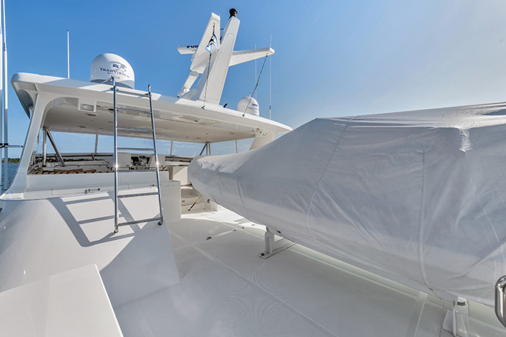 Outer Reef Yachts-Raised Pilothouse 2007-MS. MONICA Palm Beach Gardens-Florida-United States-Boat Deck-1119571   Thumbnail