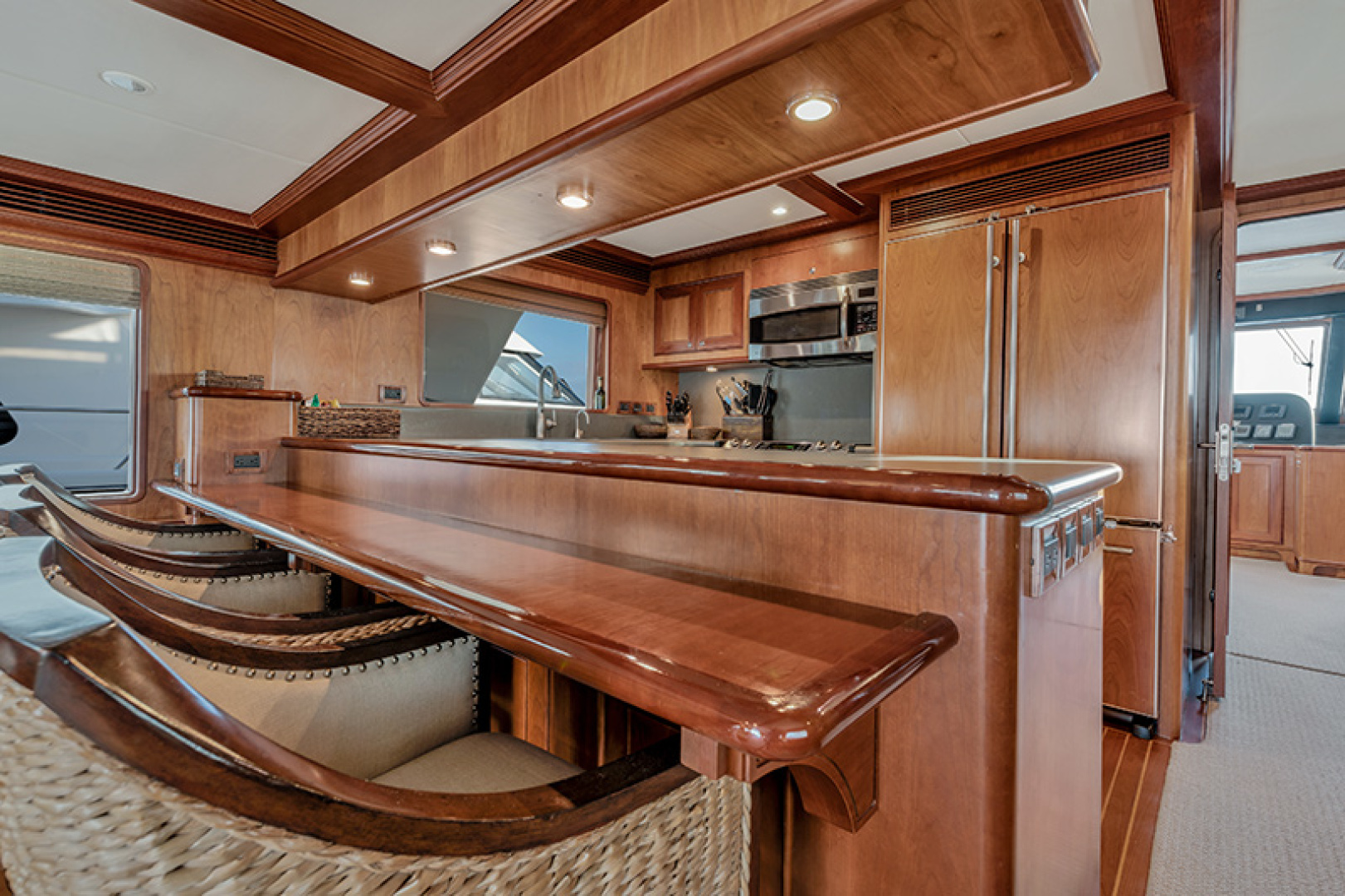 Outer Reef Yachts-Raised Pilothouse 2007-MS. MONICA Palm Beach Gardens-Florida-United States-Galley-1119556   Thumbnail
