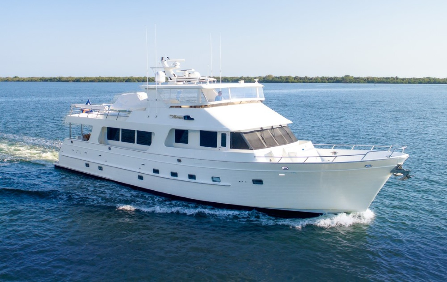 """2007 Outer Reef Yachts 80' Raised Pilothouse """"MS. MONICA"""""""