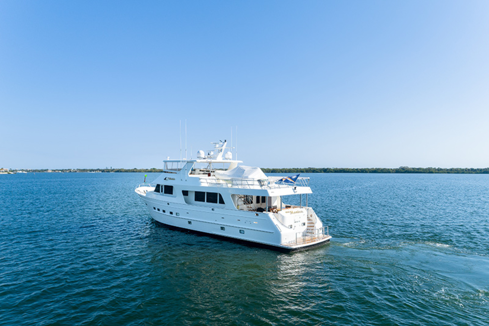 Outer Reef Yachts-Raised Pilothouse 2007-MS. MONICA Palm Beach Gardens-Florida-United States-Port Stern Running-1119581   Thumbnail