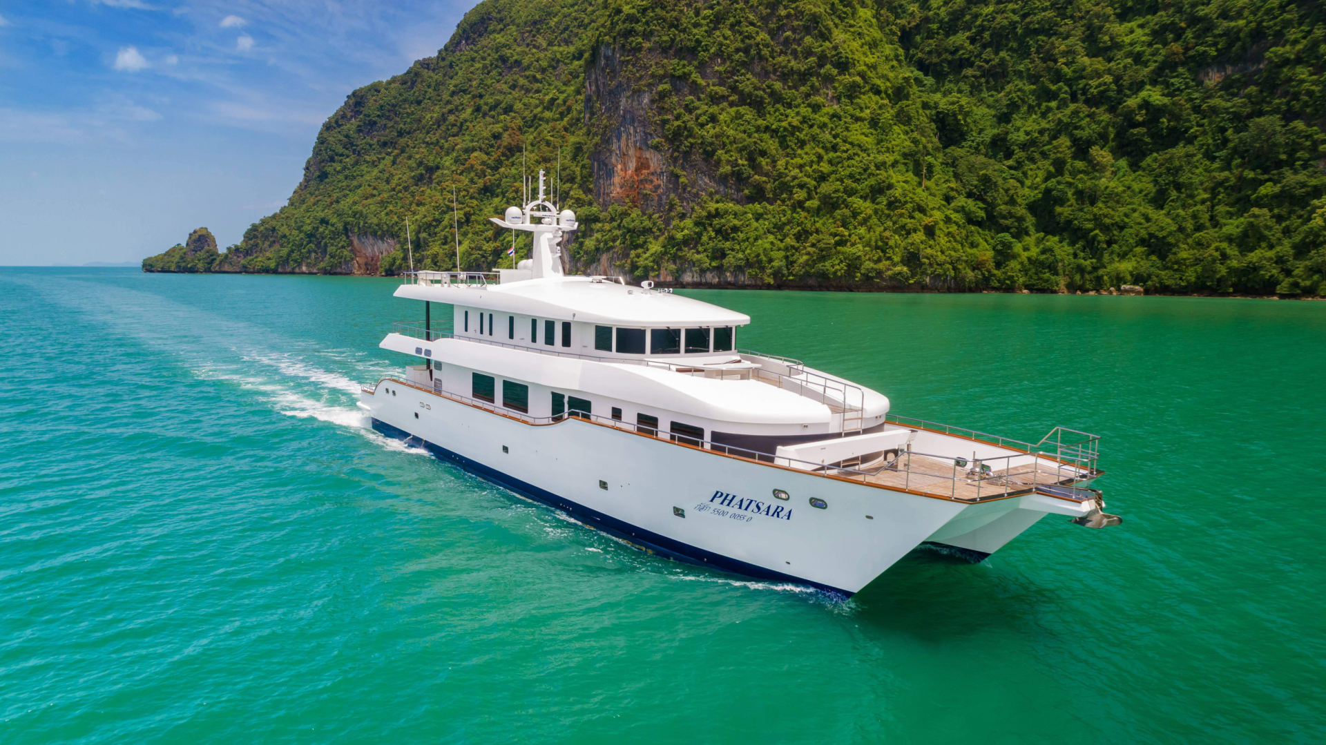 Picture Of: 121' Custom Incat Crowther 37M Power Catamaran 2012 Yacht For Sale | 2 of 36